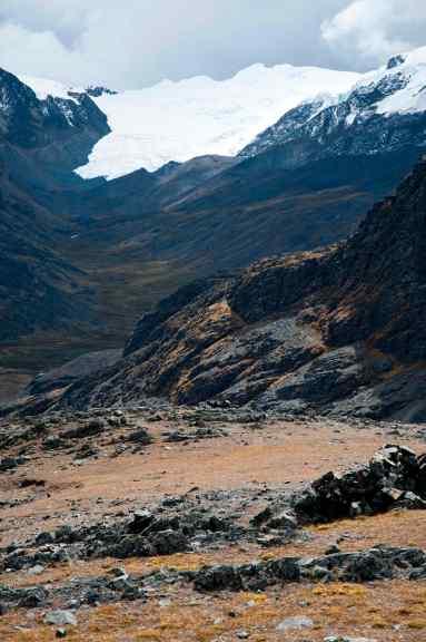 Hualla Hualla landscape, Peru