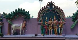 Hindu temple decorations