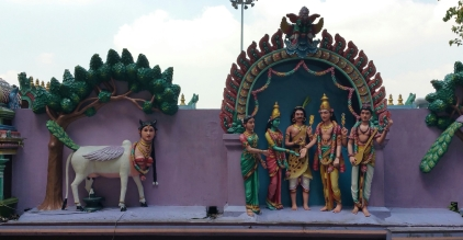 Hindu temple decorations