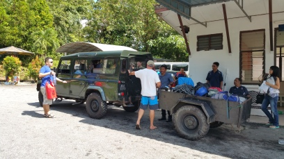 Jeeps to the top of Bukit Larut
