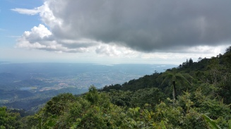 View of Taiping from Gunung hijau rest house