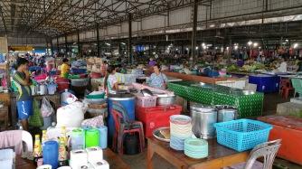 Market near Prachuap Khiri Khan, Thailand