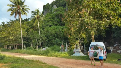 Wat in Tha Chana, Thailand