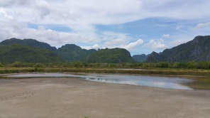 Karst in Sam roi yet, Prachuap Khiri Khan, Thailand
